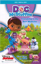 Doc Mcstuffins Movie Poster Size 27X40 Video Store Poster Disney Tv Series