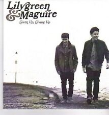 (DA455) Lily Green & Maguire, Given Up, Giving Up - 2012 DJ CD