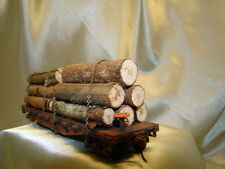 1- logging car - get the big ones out of the woods- handmade-Lot # 18  HO