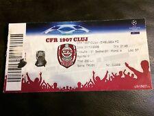 MATCH TICKET  - CFR CLUJ v CHELSEA 2008-09 UEFA CHAMPIONS LEAGUE