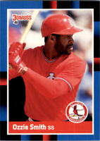 1988 Ozzie Smith Donruss Baseball Card #263