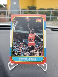 1986-87 Fleer MICHAEL JORDAN #57 Reprint High Grade Chicago Bulls