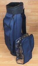 Miller Single Adjustable Shoulder Strap Golf Club Bag w/ Cover *U.S.A.*