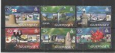 GUERNSEY 2004 EUROPA HOLIDAYS SG,1032-1037 UM/M N/H LOT R319