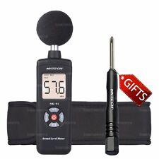NKTECH NK-S1 Digital LCD Sound Meter Noise Level 30 ~ 130dB Freq 31.5Hz~8kHz BK