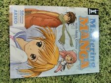 Mastering Manga 1 and 2 Drawing Instruction Books Anime Mark Crilley