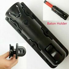 1x Adjustable Baton Holder Expandable Telescopic Holster Plastic Black Brand New