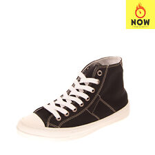 RRP €360 MAISON MARGIELA Canvas Sneakers Size 41 UK 7 US 8 Lace Up Made in Italy