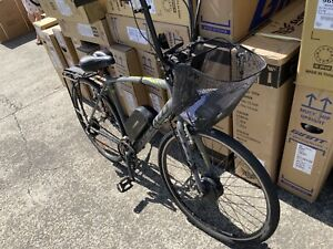 Ebike Apollo with Dillinger 36v Upgraded battery fitted with hi riser handle bar