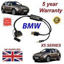 BMW X5 Series (611204407) 3GS 4 4S iPhone iPod USB & AUX Sostituzione Cavo