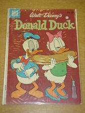 DONALD DUCK #69 VG+ (4.5) DELL COMICS WALT DISNEY FEBRUARY 1960