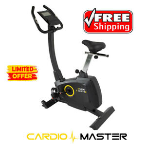 CardioMaster B109 Deluxe Programmable Upright Exercise Bike Home Gym Fitness Equ