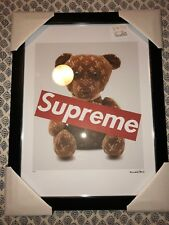 "Supreme X Louis Vuitton Bear Box Logo Fairchild Paris Print 14""x18"" #212/300"