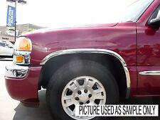 CHEVROLET/GMC PICKUP 1988-1998 TFP Polished Stainless Fender Trim - Long Style