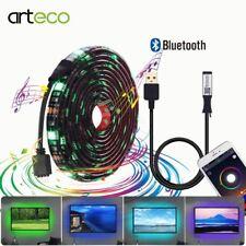 USB Led Strip Light Kit Bluetooth Controller RGB 5050 For TV Background light di