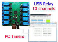 USB Relay 10 channels