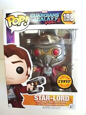 FUNKO POP vinyl bobble-head STAR-LORD Guardians of the Galaxy 2  CHASE exclusive