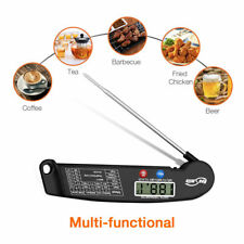 Digital Electronic Food Meat Thermometer Kitchen Cooking BBQ Grill Instant Read
