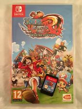 One Piece Unlimited World Red Deluxe Edition, Nintendo Switch, CIB, BGH bcs