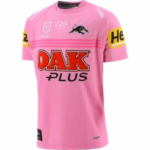 Penrith Panthers 2021 Away Jersey Ladies Size 8 & Kids 13 Pink NRL oneills