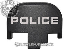 For Smith Wesson S&W M&P 9 40 45 Rear Slide Back Plate Blk Police 1LT