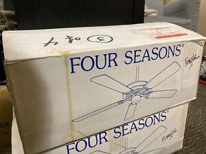 Airflow by Casablanca White Ceiling Fan Model: Four Seasons F-252-SW