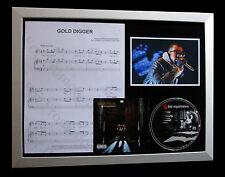 KANYE WEST Gold Digger GALLERY QUALITY CD LTD FRAMED DISPLAY+EXPRESS GLOBAL SHIP
