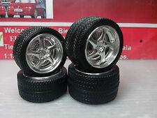 1:18 Set kit de llantas Porsche Turbo  aluminio + plastico ALTRBM01-3L050