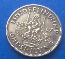 1947 Rey Jorge Vi Un Chelín moneda 70TH Cumpleaños escocés