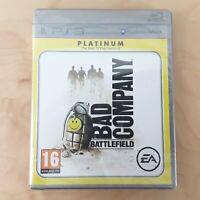 BATTLEFIELD BAD COMPANY PLATINUM PLAYSTATION 3 PS3 BRAND NEW & SEALED FREE P&P