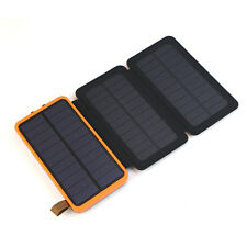 300000mAh Foldable Solar Panel External Battery USB Charger Power Bank Fr Phone