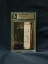 2009 Razor Sports Icons Update Monte Irvin Hall of Famer #33 of 51 Autographed