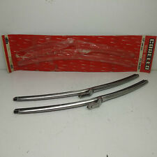 Set 2 Wiper Blades CARELLO Chrome Alfa Romeo Alfasud - Fiat 128