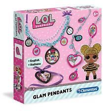 Clementoni LOL Surprise Pendants Necklace Making Kit