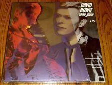 DAVID BOWIE SOUND VISION 6 LP CLEAR VINYL BOX SET STILL FACTORY SEALED