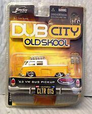 Volkswagen 1963 Pickup W/Sliding Bed - VDubs Jada Toys Scale 1:24 Diecast - NEW