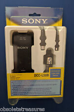 Sony Car DC Adapter Charger DCC-L50B for Handycam, Cybershot, Mavica