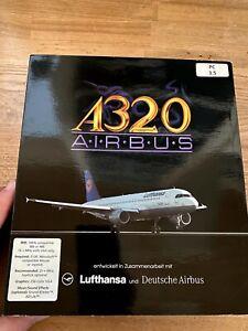 IBM PC A320 Airbus - sehr guter Zustand in OVP - Lufthansa