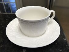 MIKASA ENGLISH COUNTRYSIDE  WHITE  CUP & SAUCER SETS  DP 900