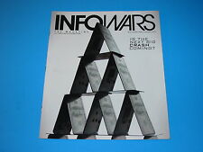 Alex Jones Infowars Magazine Conspiracies November Nov 2013 Vol 2 #3 TSA Banks