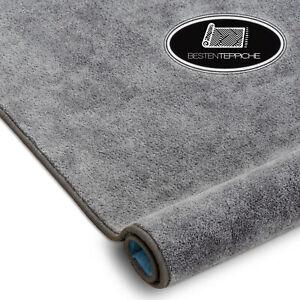 Langlebig Modernen Teppichboden SERENADE grau große Größen! Teppiche nach Maß