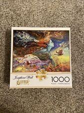Buffalo Games - Josephine Wall Spirit Of Flight Glitter 1000 Piece Jigsaw Puzzle
