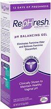 RepHresh Vaginal Gel, 0.07 Oz, 4 Count eliminates feminine odor