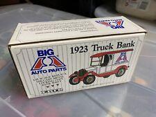 ERTL Big A Auto Parts 1923 Chevrolet Truck Bank 1:25 Red White Diecast Metal