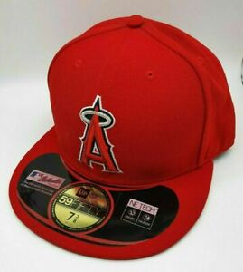 New Era 59fifty Fitted Hat Cap - Anaheim Angels, Baseball, Los Angeles