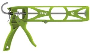 Iquip Drip-Free Nylon Skeleton Caulking Gun - 22CGN310 - Tilers Tiling Tools