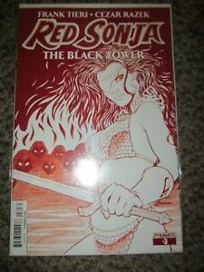 RED SONJA 3 RARE RED BLOOD VARIANT - SEXY BAD GIRL - COMBINED SHIPPING