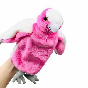 "Galah Hand Puppet soft plush toy 11""/28cm Australian Animal Puppet"