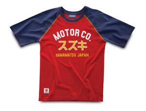 Genuine Suzuki Men's Motor Co. T-Shirt, Colour Red