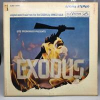 Vintage Exodus Film Soundtrack Album Vinyl Record LP